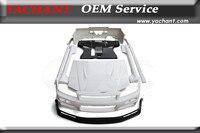 Car Styling Full FRP Fiber Glass Bodykits Fit For 99 00 Skyline R34 GTT 2D 4D GTR Conversion Body Kit Bumpers Lip Skirts Hood