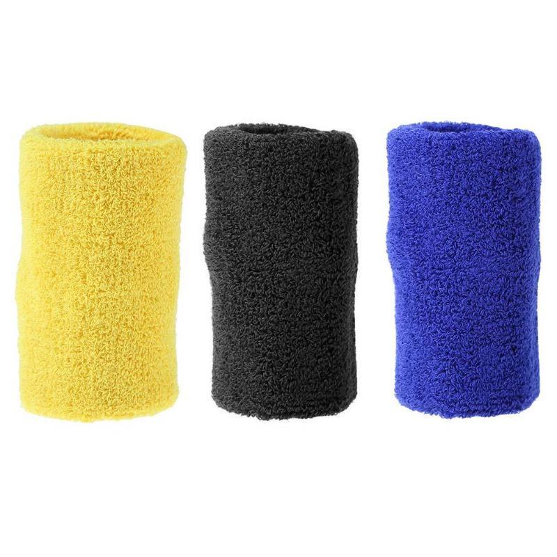 Basketball Sweat Towels: 2pcs/set Volleyball Basketball Towel Wristbands Sports