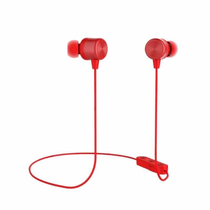 Bezprzewodowy zestaw słuchawkowy Bluetooth 5.0 Słuchawki sportowe słuchawki douszne styl X-neck Halter magia B słuchawki douszne przewód sterowania pszenicy miękkie komfort materiał