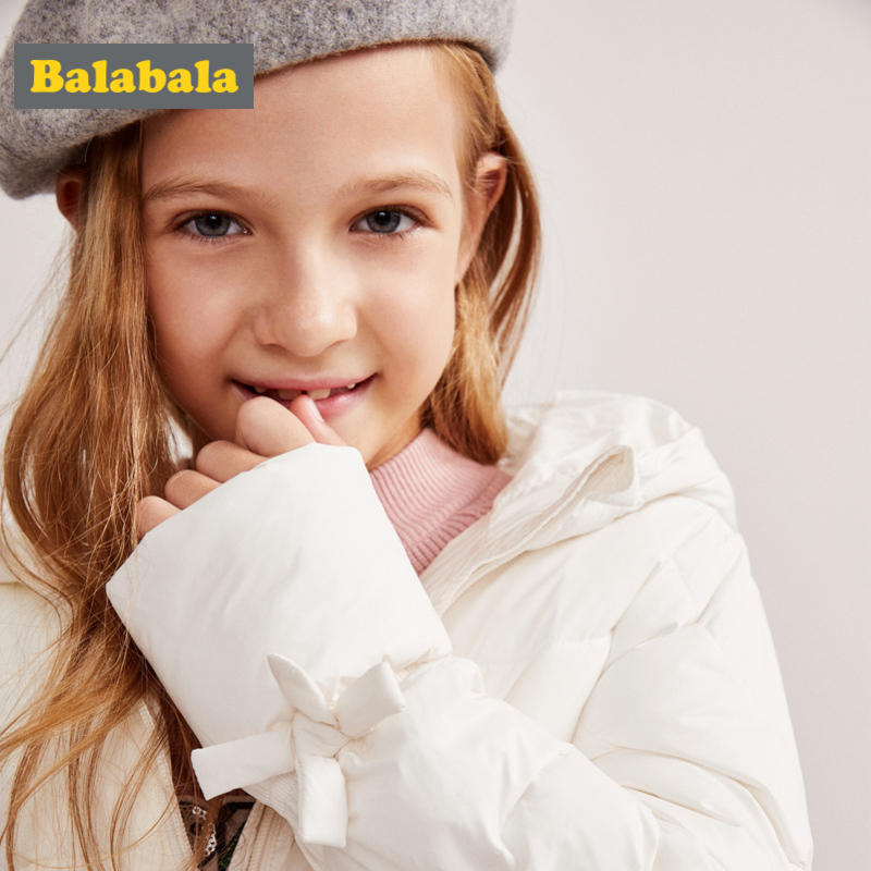 Balabala Girl Quilted Lightweight Hooded Puffer Jacket with Bow Tie at Cuff Teenage Girls Hooded Padded Jacket with Slant PocketBalabala Girl Quilted Lightweight Hooded Puffer Jacket with Bow Tie at Cuff Teenage Girls Hooded Padded Jacket with Slant Pocket