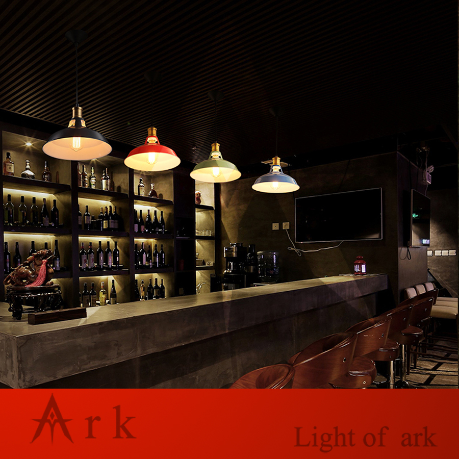 ARK LIGHT VINTAGE loft 1pcs IRON Pendant light american old furniture nostalgic for cafe living room COOFE ROOM DINNER ROOM