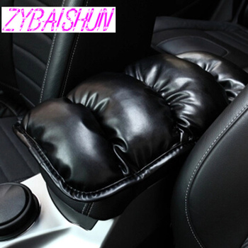 car armrest of soft leather center console box for Peugeot 206 207 208 301 307 308 407 2008 3008 4008 image