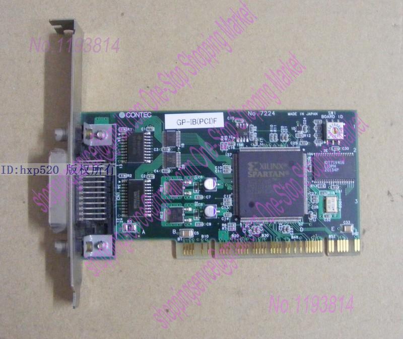ФОТО NI PCI GP-IB NO.7224 CONTEC Data Acquisition Card