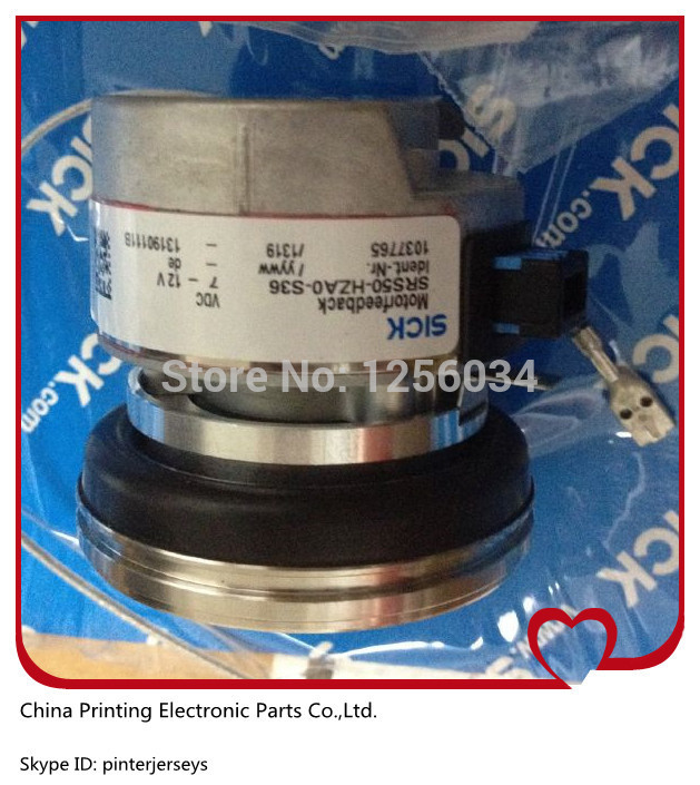 2 pieces SICK encoder for heidelberg,  SRS50-HZA0-S36, heidelberg 102 machine spare parts C2.101.3013 20 pieces free shipping heidelberg printing machine spare parts feeder wheel size 60 8mm