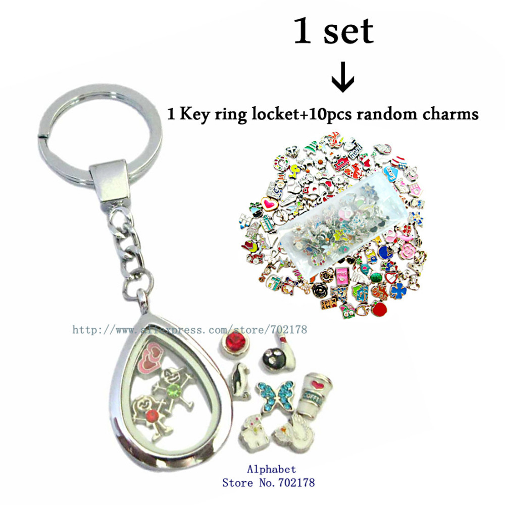 locket heart lockets personalized shaped keychain free engraving
