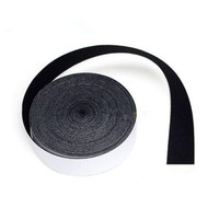 2 5CM 15M Self Adhesive Glue Black Felt Tape For Squeegee Replacement Suede Felt Edge For