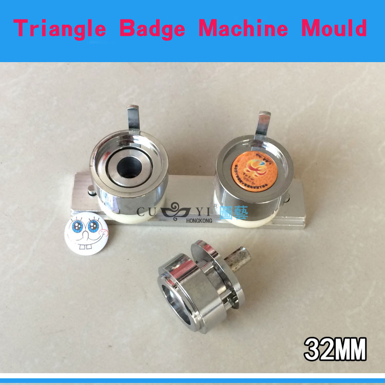 Aluminium Alloy Sliding Way for Round 32mm New Pro Badge Machine Button Maker Trangle Badge Machine Mould все цены