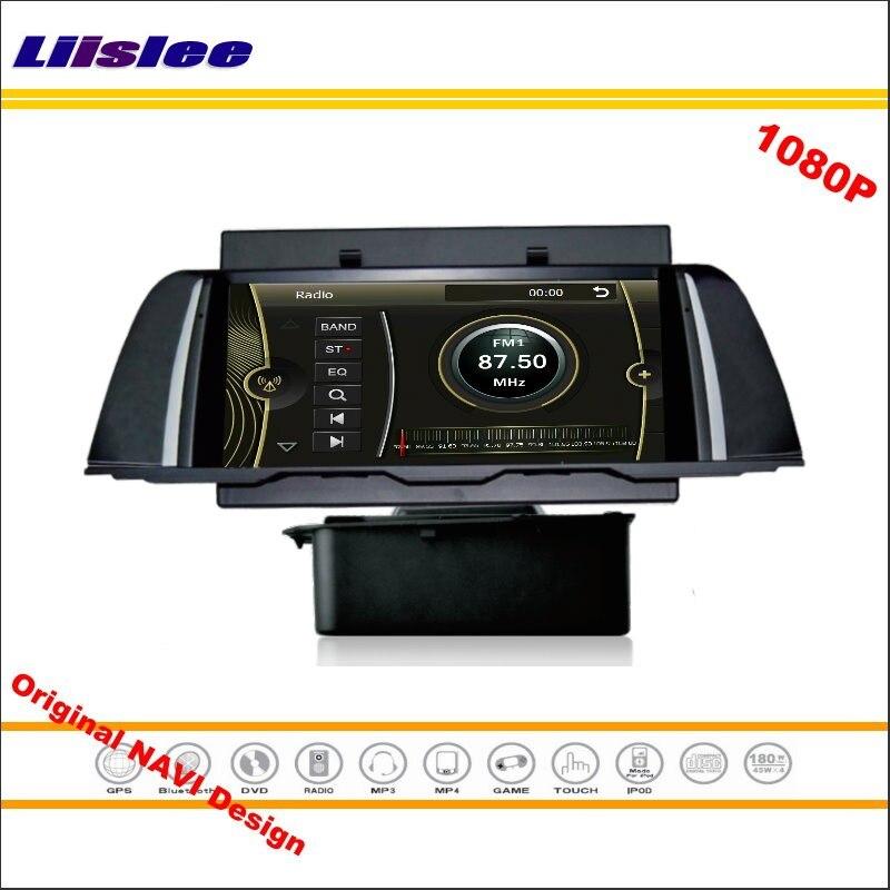Liislee для BMW F10 2013 ~ 2014 стерео Радио CD dvd-плеер GPS nav Navi навигация 1080 P HD экран Системы оригинальный Navi Дизайн