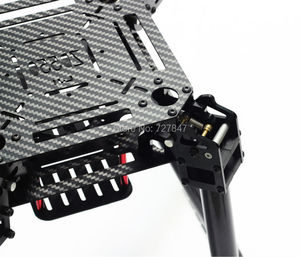 Image 5 - Upgrade F550 ZD550 550mm / ZD680 680mm Carbon fiber Quadcopter Rahmen FPV Quad mit Carbon Fiber Landing Skid