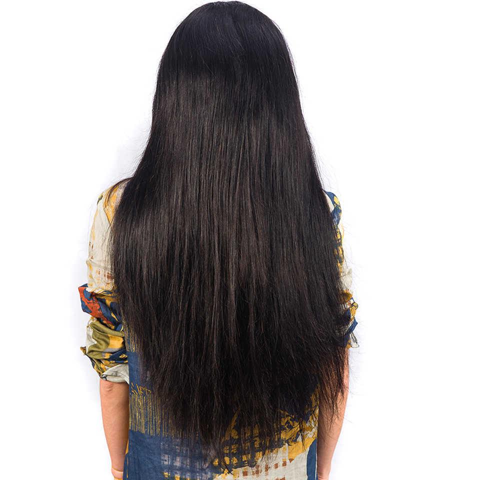 Brezilyalı Dantel Ön İnsan saçı peruk Ön Koparıp 13X4 Kulak için Kulak Düz Dantel Frontal Peruk Ile Bebek Saç Remy saç Peruk Kadınlar Için