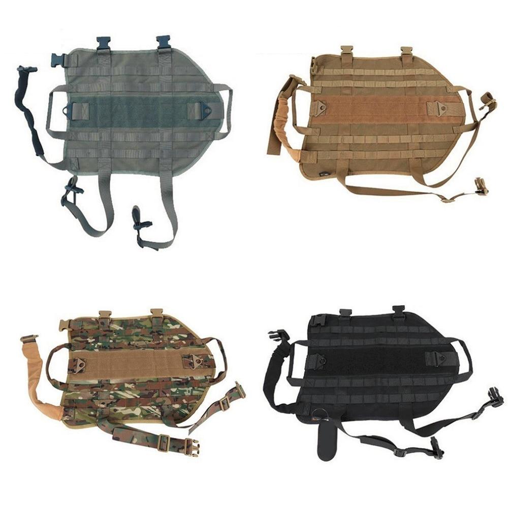 Тактический Открытый Военная Охотничья Собака Одежда Подшипника Нагрузки Универсальный Тренировочный Жилет Жгут XS-XL Pet Puppy Cats одежда