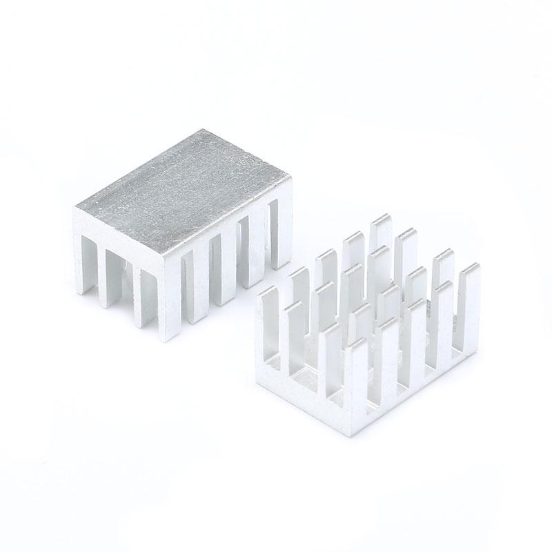 10 pcs Heatsink Radiator Cooling Fin Cooler Aluminum Heat Sink for IC Chip LED 191311mm 19X13X11mm (3)