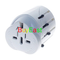 Free Shipping World Travel Adapter US EU GB AU China Japan All In One AC Power