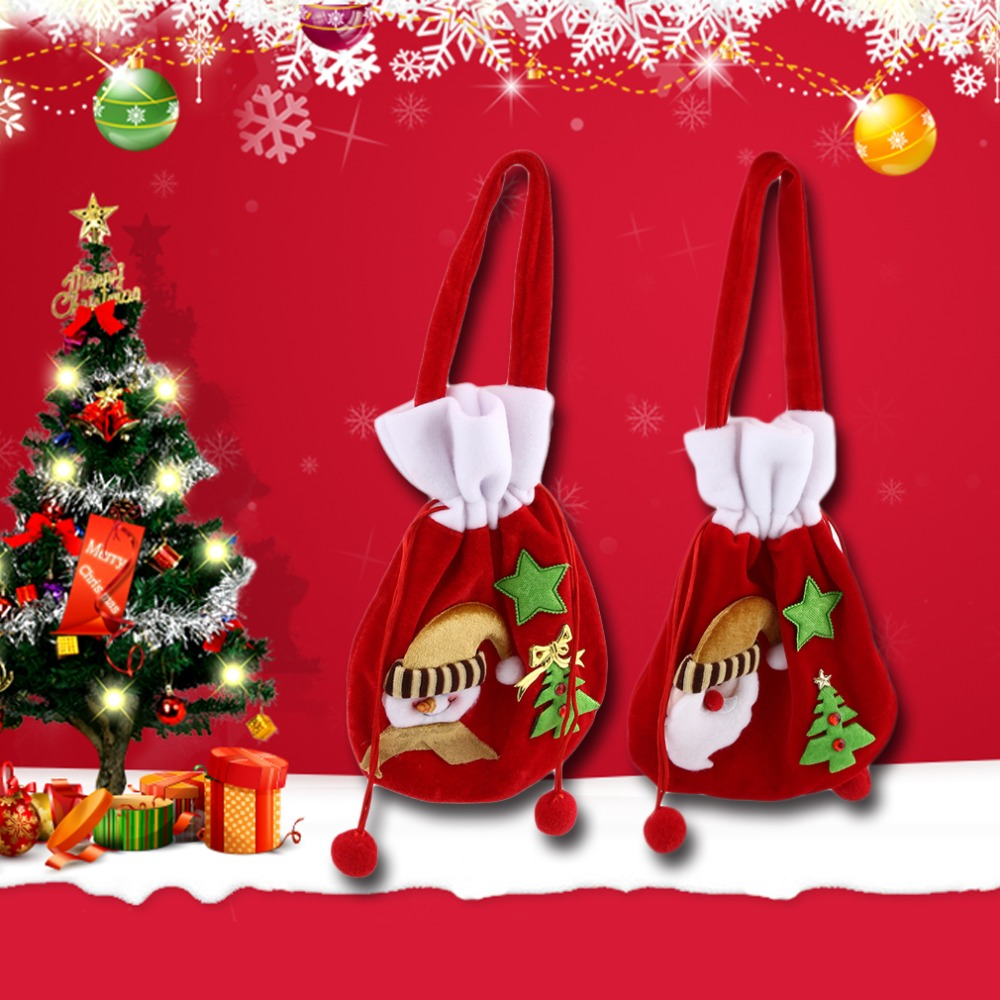 Funny Christmas Tree Decorations Part - 40: 2017 Popular New Funny Design Birthday Christmas Children Kids Handheld  Gifts Bag Home Office Xmas Tree Decorations For Child