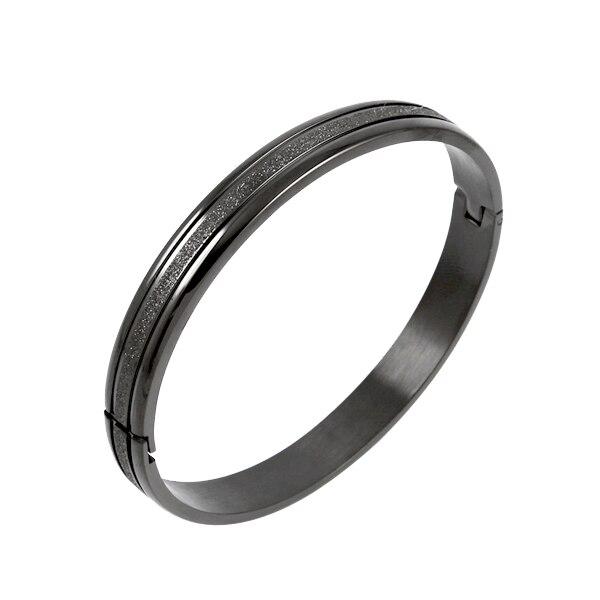 HM-10 Fashion Women Cuff Bracelet Stainless Steel Lover's Popular Bracelet Inlay Gift Bracelet/Bangle Jewelry