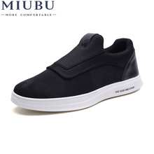 MIUBU Brand Men Tenis Masculino Adulto Sneakers Chaussure Homme Feminino Breathable Loafers Casual Slip-On Rubber