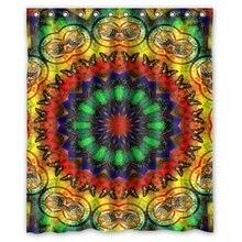 CHARM HOME Futefew Bathroom Decor Mandala Hippie Pattern