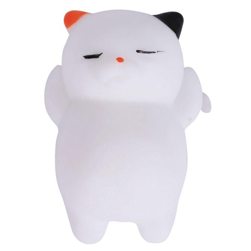 1 Pcs Kawaii Squishy Cat Mochi Anti Stress Squishy Slow Rising Squishy Stress Relief Toys