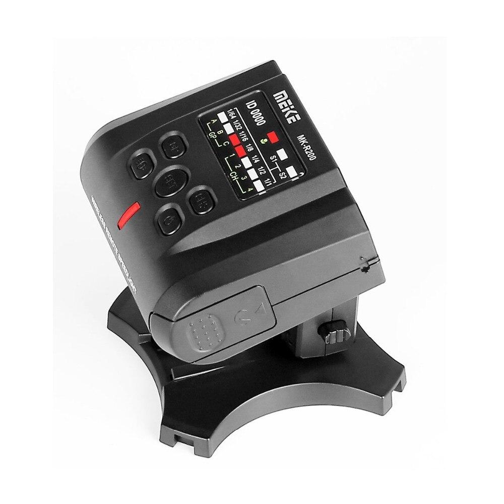 Беспроводная дистанционная вспышка MEKE Meike MK-R200II 2,4 ГГц для цифровых зеркальных камер Canon