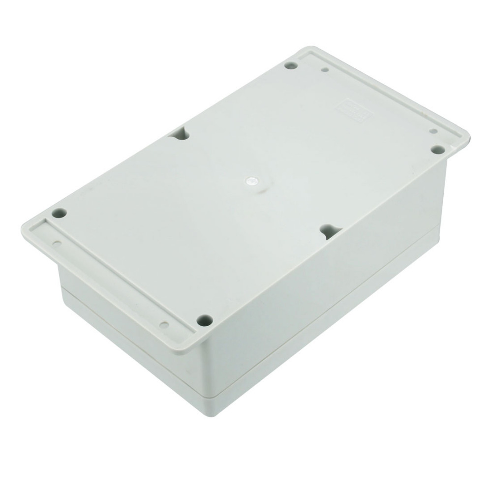 Newest 1pcs 230x150x85mm Electronic ABS Housing DIY Junction Box Electrical Connection Box Enclosure Case Outdoor Waterproof in Connectors from Lights Lighting