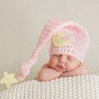 Baby Handmade Beanies Hat Crochet Knitted Costume Newborn Photography Props Cap