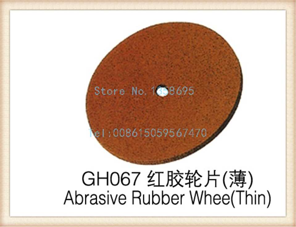 HOT Sale!!! Promotion!!! Free Shipping !!! 100pcs/pack abrasive rubber wheel, thin polishing wheel, jewelry accessaries tools