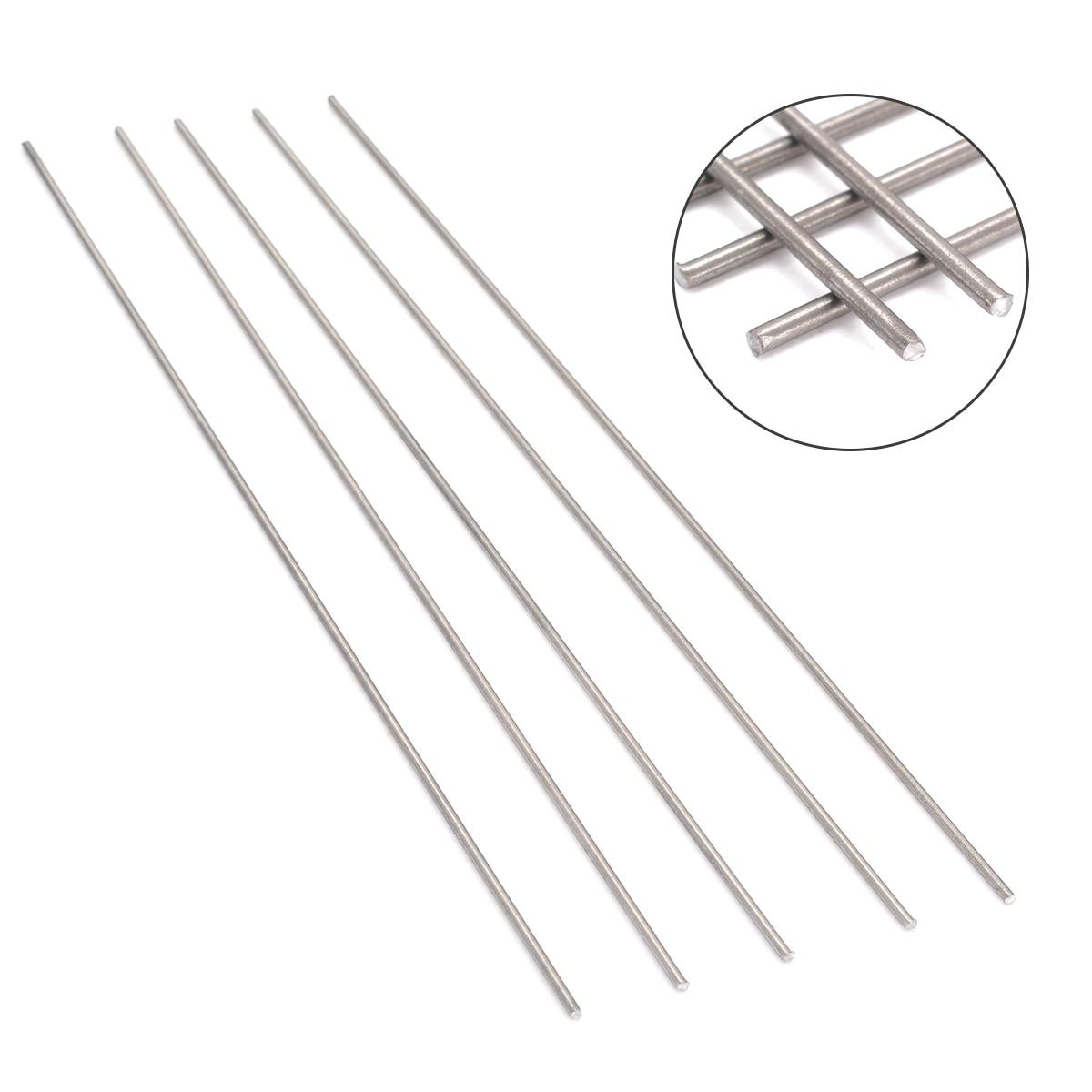 Aliexpress Buy 5pcs 2mm Diameter Titanium Ti Grade 5 Gr5 Metal Rod 250mm Length For