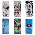 Flor colorida flores cenário padrões casos voltar tampa da bateria para xiaomi mi5 pintura rígido pc phone cases acessórios