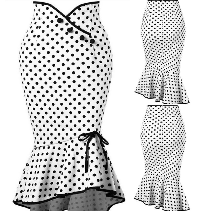 Sunfree 2018 New Hot Sale Mujer High Waist Botton Ruffles