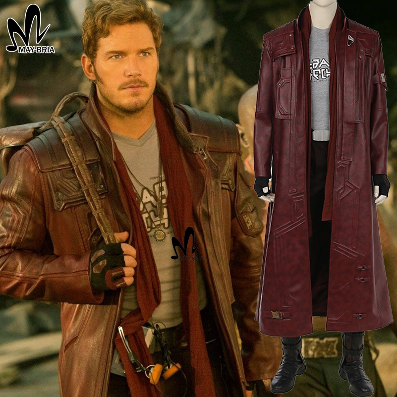 Star Lord cosplay costume Halloween Superhero cosplay ...