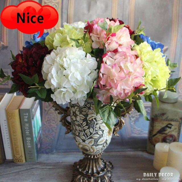 10 Teile Los Kunstliche Hortensien Grosshandel Seidenblume Hortensien