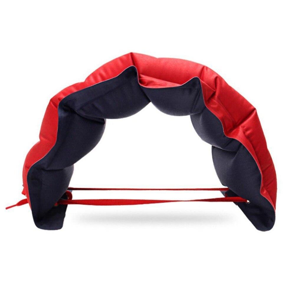 73*26cm Adjustable Swimming Pool Inflatable Waist Belt Swimming Float Belt Training Aid Floating Equipment Survival Arm Floaties