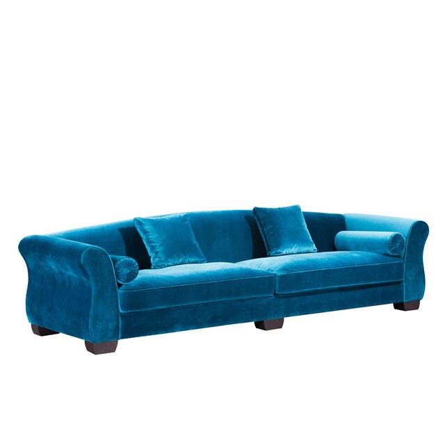 Superbe Ashford Wooden Sofa Slipover, Elegant Fabric Sofa With Cushion,Wooden And  Linen Sofa