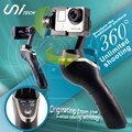 UniGo 3-Axis Handheld Gimbal for FPV Gopro 3 / 4  Brushless Camera Xiao Yi Photography Screen display bracket Free Shipping
