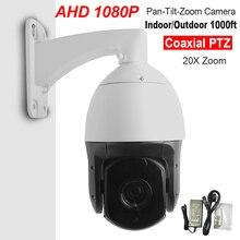 Security CCTV AHD 1080P 2.0MP 6″ High Speed Dome AHD PTZ Camera 20X Optical ZOOM IR 300M Auto Focus IP66 Full HD Pan/Tilt IR-CUT