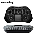 GP800 Measy Air Mouse 2.4G Mini Wireless Keyboard Touchpad de Control Remoto Para MX Intel Caja S905 M8S Android TV caja