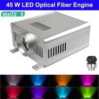 DIY DMX/DMX512 45W RGB LED Fiber Optical satr ceiling light kits Engine Driver for all kinds fiber optics Cable as decoration