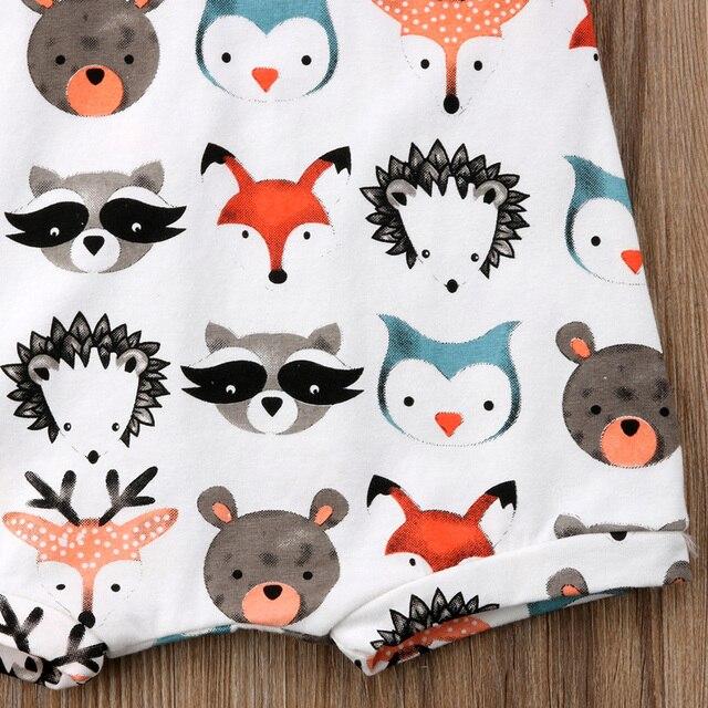 Brand New Summer Baby & Toddler Romper - Cartoon Animals