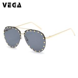 VEGA Eyewear UV400 HD Vision Pilot Sunglasses Men Women Rimless Sunglass Adult Pilot Sun glasses Men Aviation Sunglasses VG14