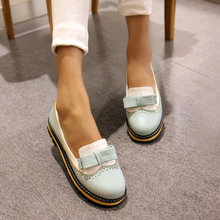 16 fashion women font b shoes b font low heels cozy elegant bowtie Square heel font