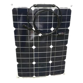 Portable Flexible Solar Panel 12v 35w Solar Battery Charger Photovatics Panels 70W 140W 210W 280W Rv Motorhomes LED Light Camp