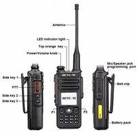 מכשיר הקשר Retevis RT82 GPS Dual Band DMR רדיו מכשיר הקשר דיגיטלי DCDM TDMA IP67 Waterproof שני הדרך רדיו Comunicador (4)