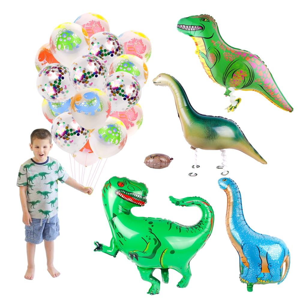 1pcs Dinosaur Decoration Happy Birthday Party Decorations Kids Favors GIfts Jungle Party Dinosaurs Decor For Room Accessories in Party DIY Decorations from Home Garden