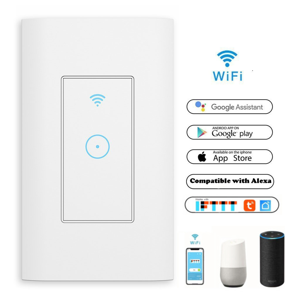 все цены на Smart Wifi Interruptor Wall Touch Light Switch Timing Function Remote Control Voice for Amazon Alexa Google Home koogeek sonoff