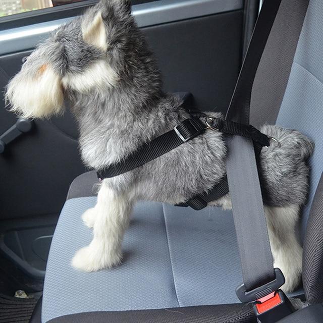 New Pattern Small Medium Dog Harness Vest Dog Car Belt Soft Pet