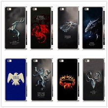 Game Thrones Daenerys Dragon Jon Snow tyrion lannister hard PC case For Huawei P8 P9 P10
