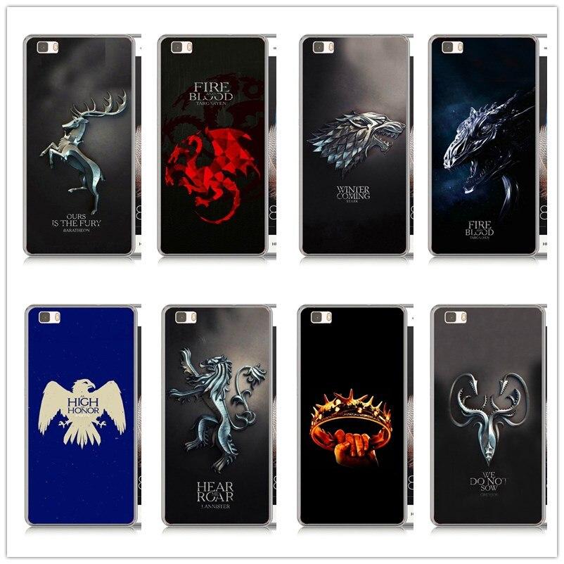 Game Thrones Daenerys Dragon Jon Snow tyrion lannister hard font b PC b font case For