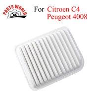 Автомобильный воздушный фильтр двигателя автомобиля высокой эффективности для peugeot 4008 2012 Citroen C4 aircorss 2.0L Авто Запчасти для авто аксессуары OEM...