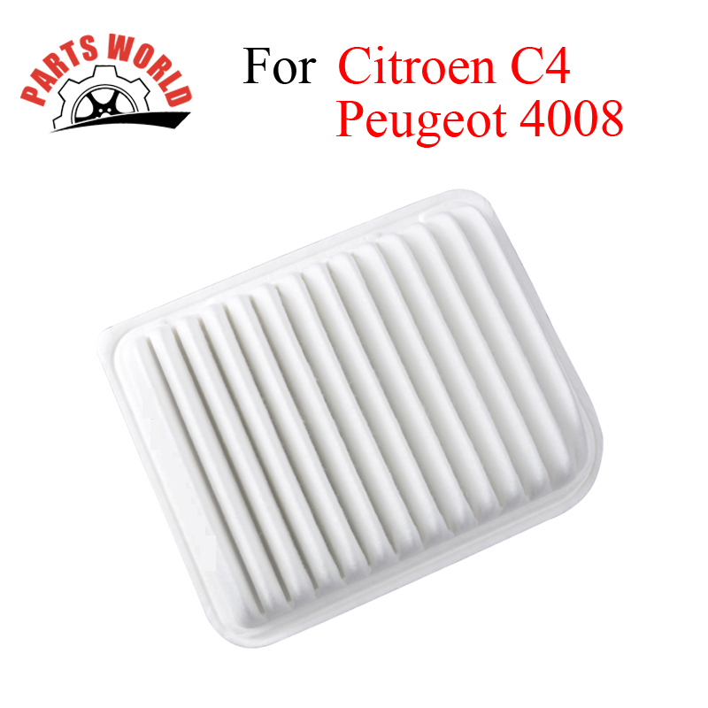 Car Engine Air Filters For Peugeot 4008 2012 Citroen C4 Aircorss 2.0L Auto Replacement Parts Accessories OEM MR968274
