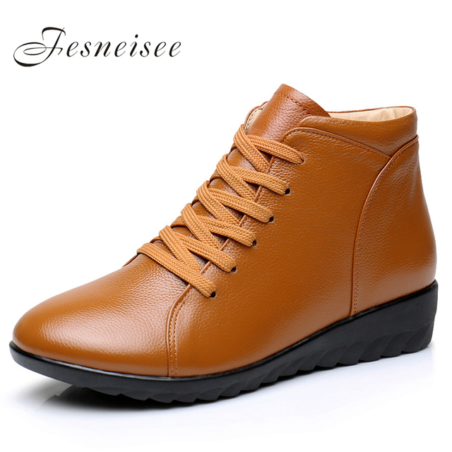 Chaussures hiver orange Casual femme 7OXb7TS